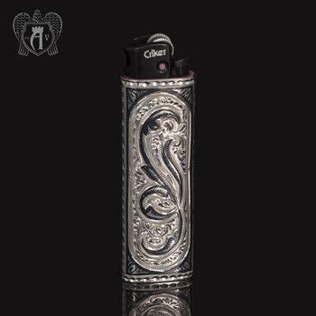 Зажигалка серебряная  «Триумф»