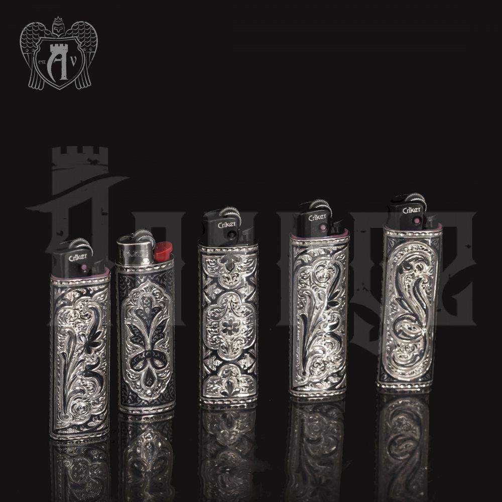 Зажигалка из серебра  «Минас» Апанде, 5500019