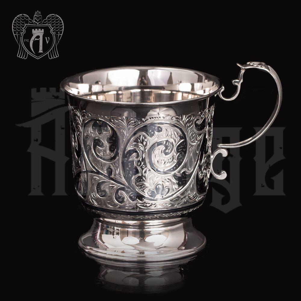 Большая кружка из серебра для напитков  «Тирион» Апанде, 32009135