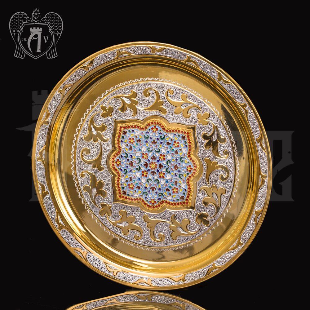 Серебряный водочный сервиз «Лорд» Апанде, 11100560