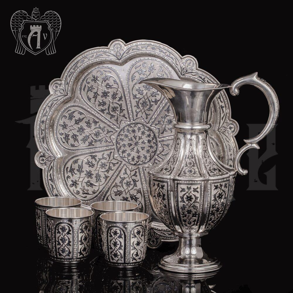 Винный сервиз из серебра  «Мистраль» Апанде, 111005351