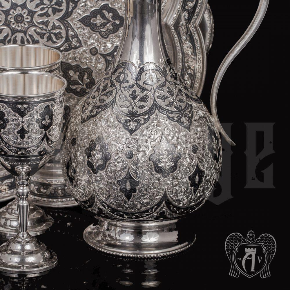 Винный сервиз из серебра  «Тарнаир» Апанде, 111005356