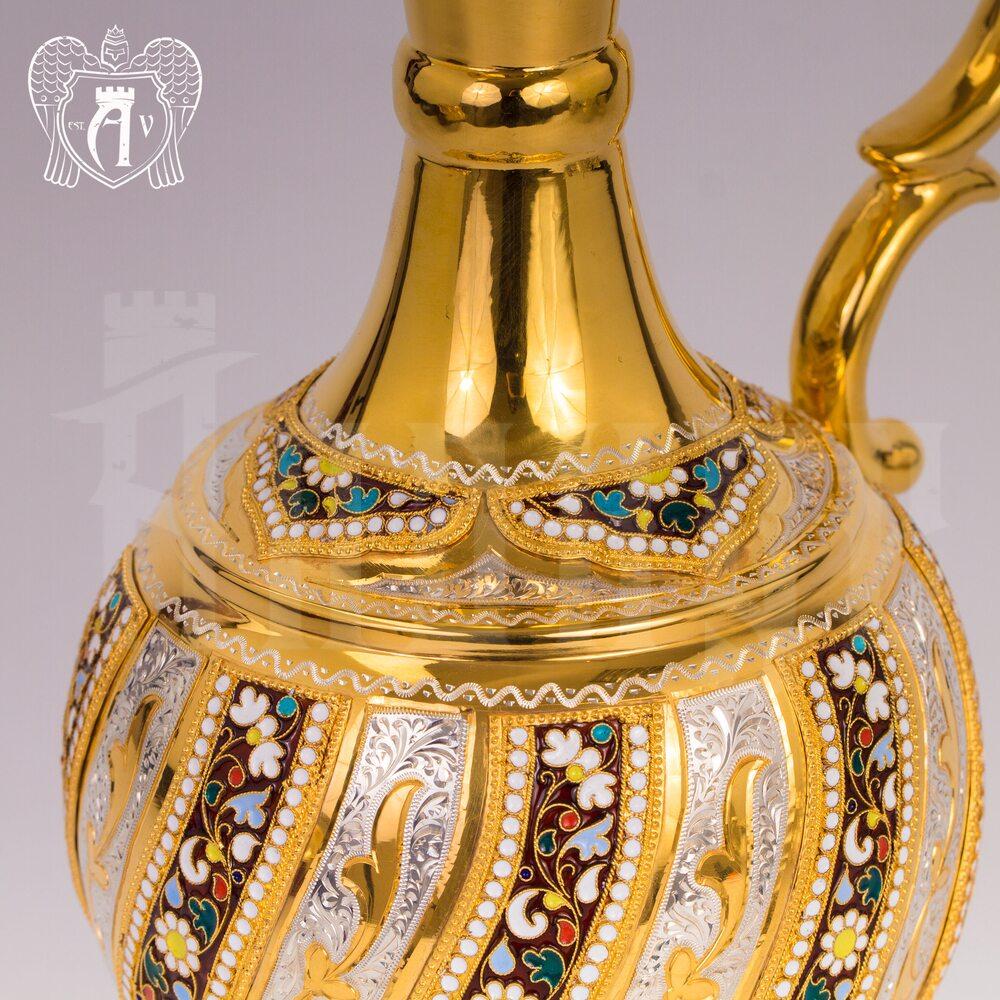 Кувшин из серебра для вина и воды «Борджиа» Апанде, 5400075