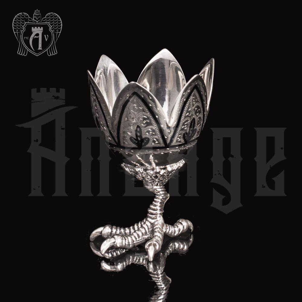 Пашотница серебряная «На курьей ножке» Апанде, 91000577
