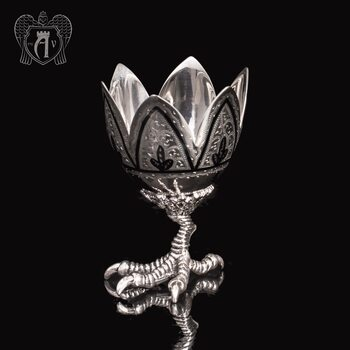 Пашотница серебряная «На курьей ножке»