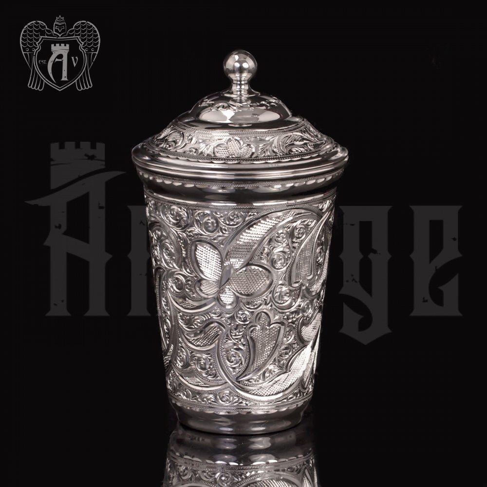 Серебряный стакан «Хрустальный звон» из чистого серебра 999 пробы Апанде, 71000509