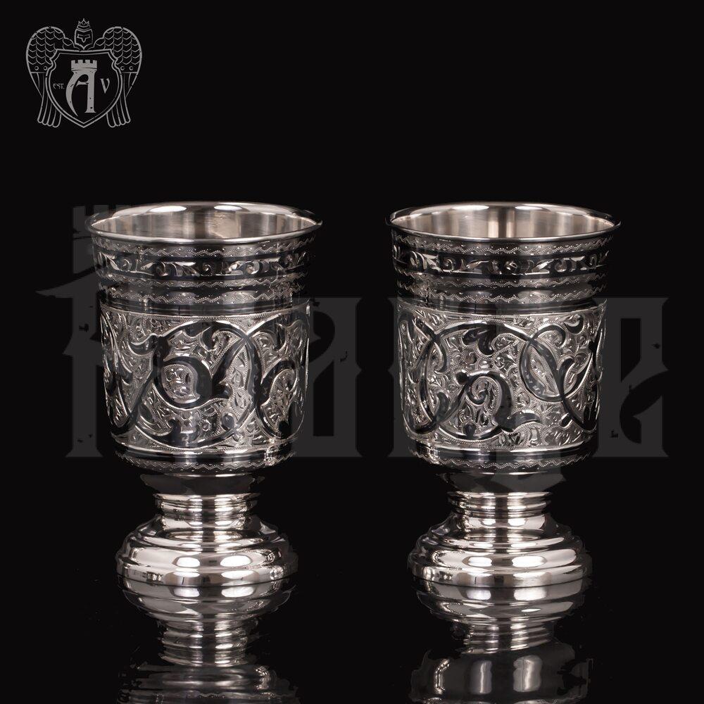 Набор  стаканов из серебра  «Торино» Апанде, 71000448
