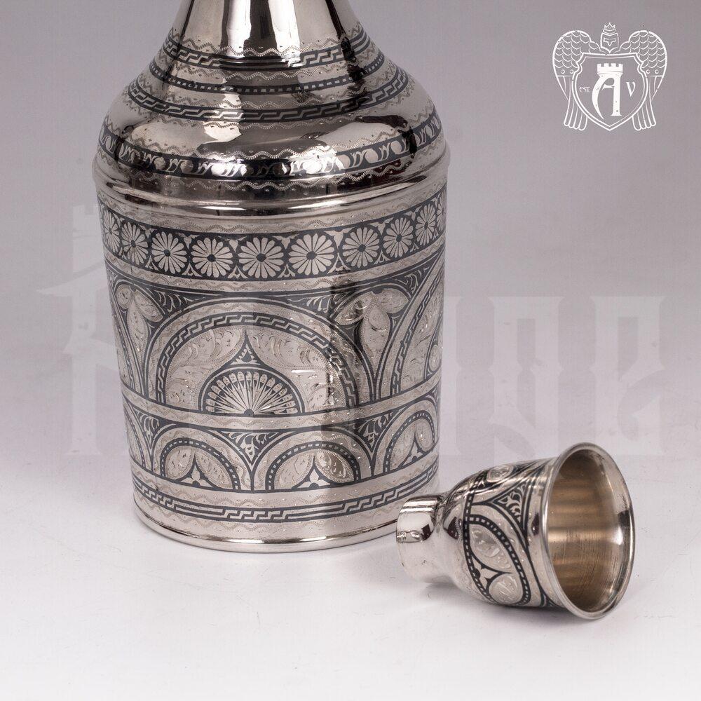 Графин водочный из серебра «Верона»  Апанде, 5400509
