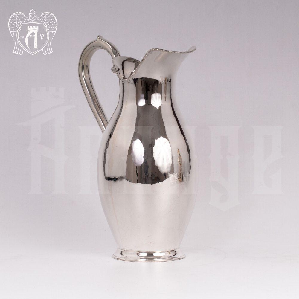 Кувшин серебряный «Палермо» гладкий Апанде, 54000509