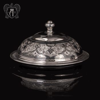Масленка серебряная «Аллегро»