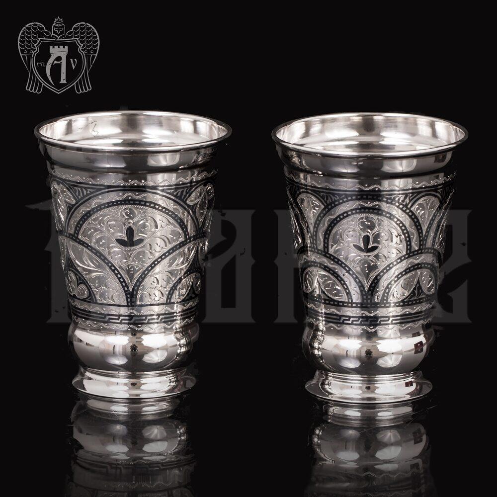 Набор  стаканов из серебра  «Верона» Апанде, 71000449