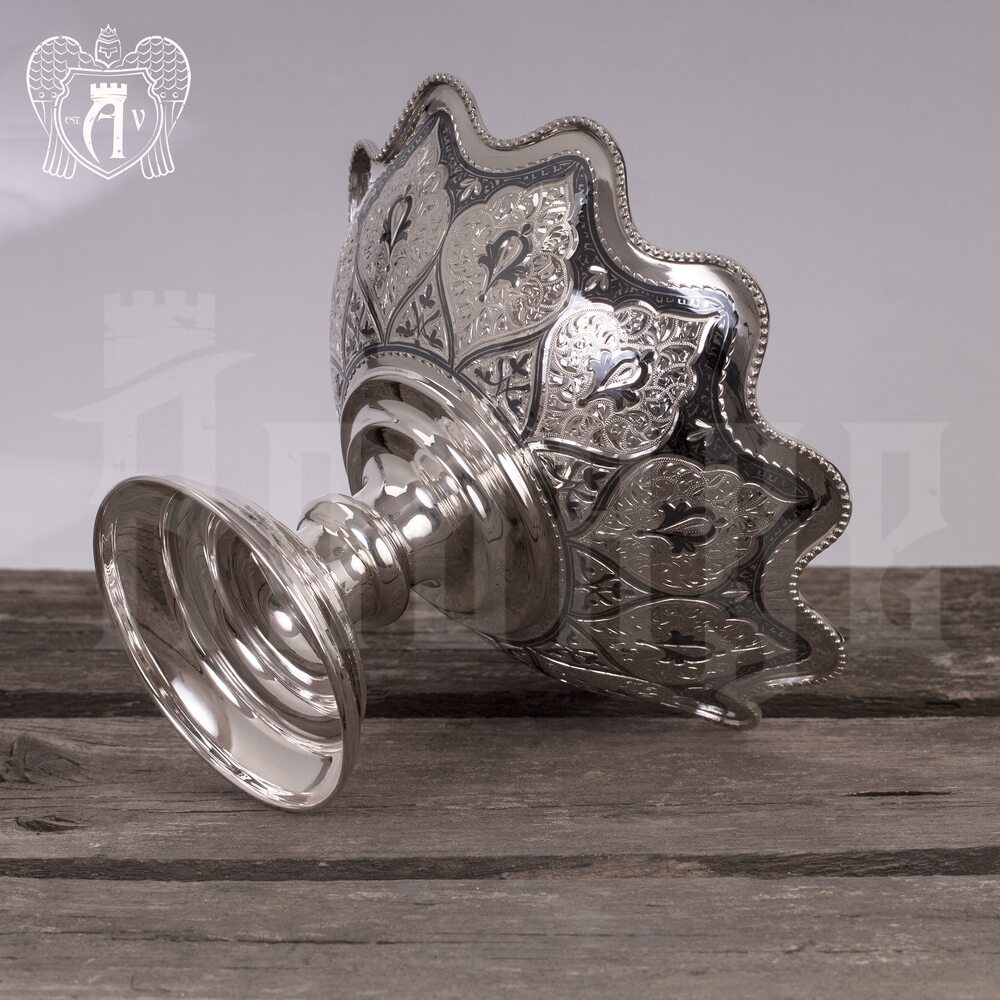 Серебряная фруктовница «Кристина»  Апанде, 520005