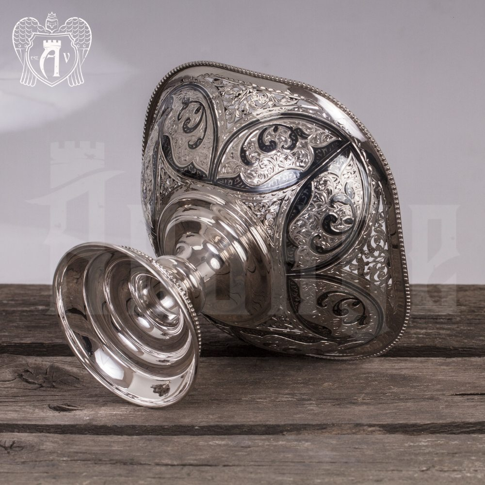 Серебряная фруктовница «Бастинда»  Апанде, 520006