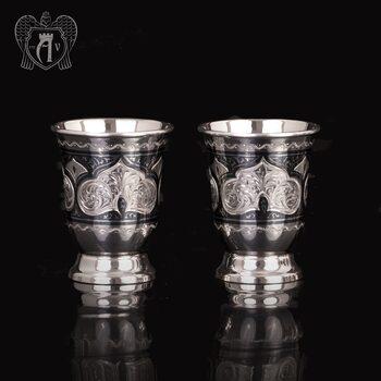 Набор серебряных стопок  «Аллегро 2»