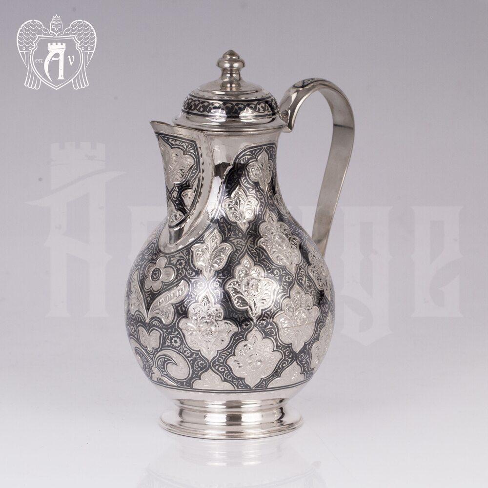 Кувшин из серебра 925 пробы «Люксор» малый Апанде, 5400580