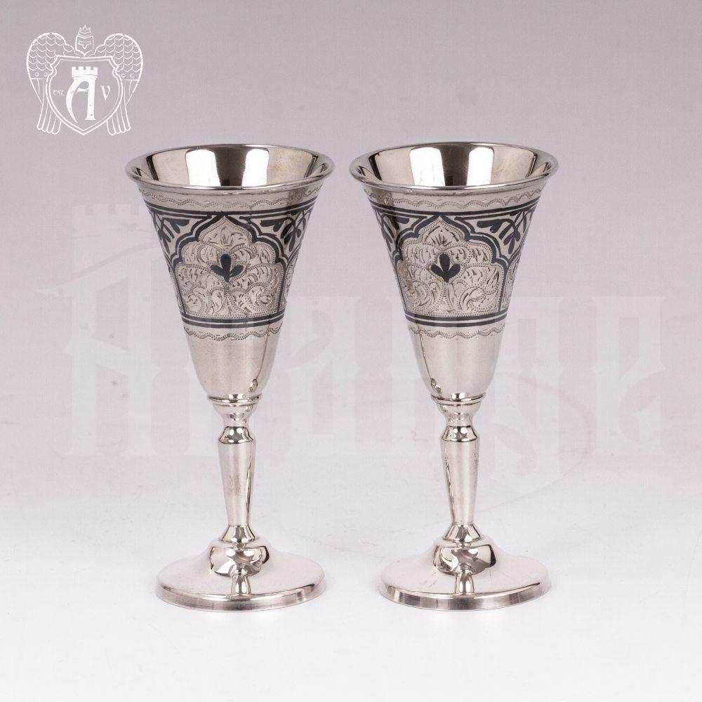 Набор рюмок из серебра  «Верона» Апанде, 75000186