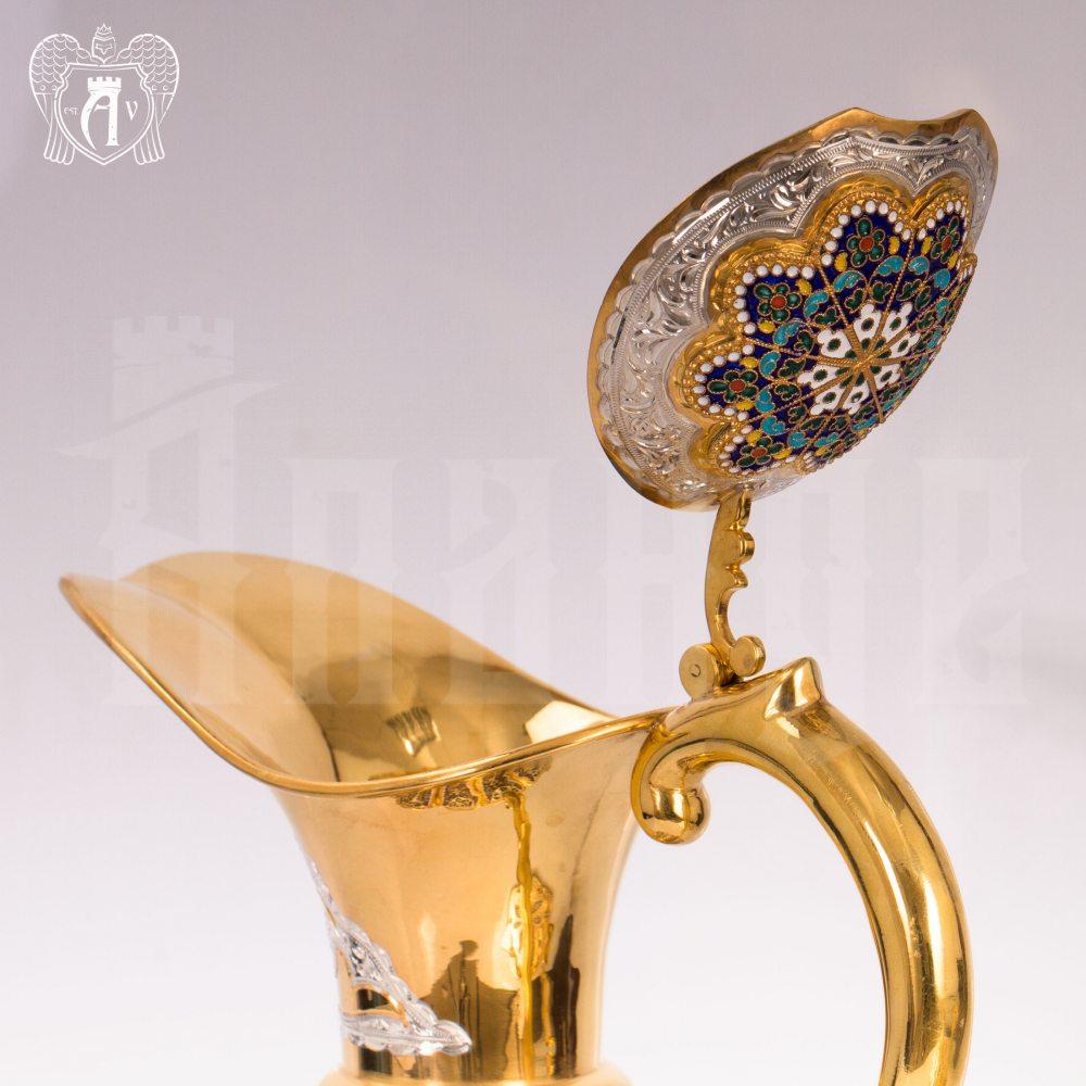 Кувшин из серебра для вина и воды «Бухарест» Апанде, 5400074
