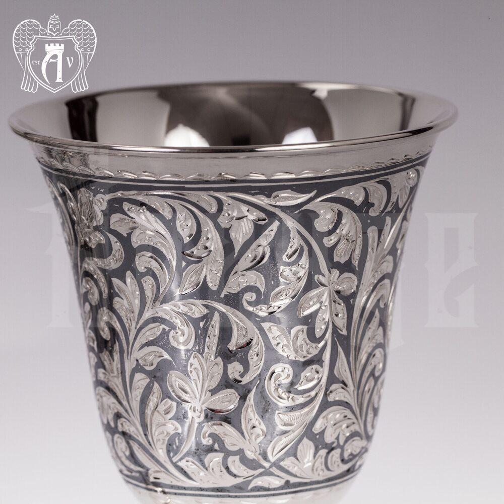 """Бокалы из серебра """"Клио""""  Апанде, 3800415"""