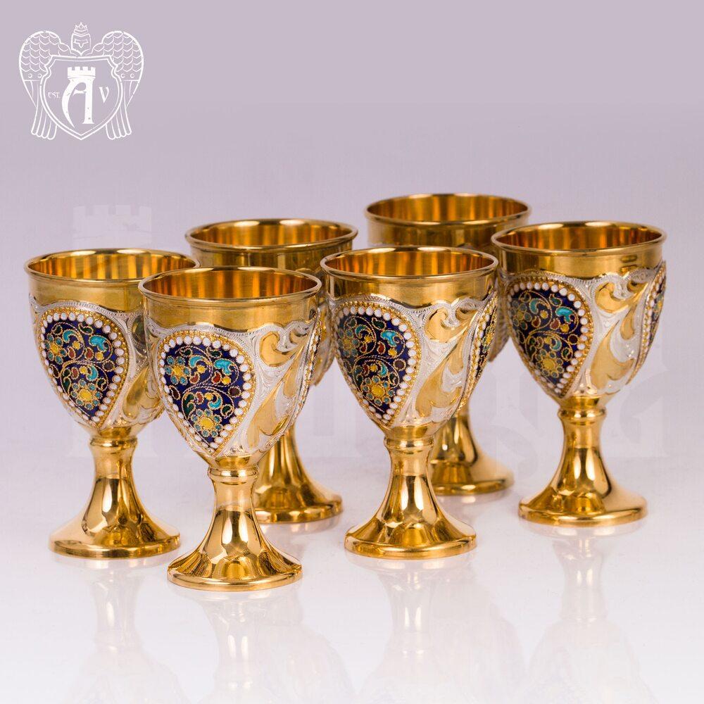 Винный сервиз из серебра  «Тюдор» Апанде, 111005357