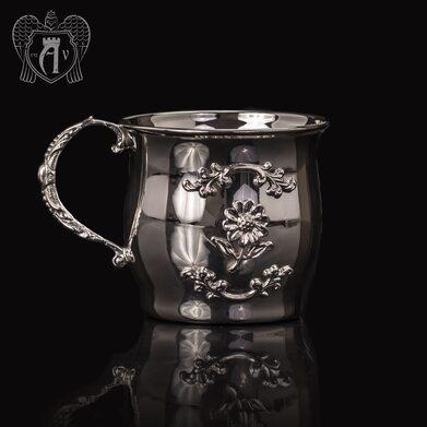 Детская  кружка из серебра для напитков  «Малыш»