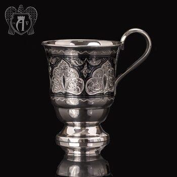 Кружка из серебра для напитков  «Соломон»