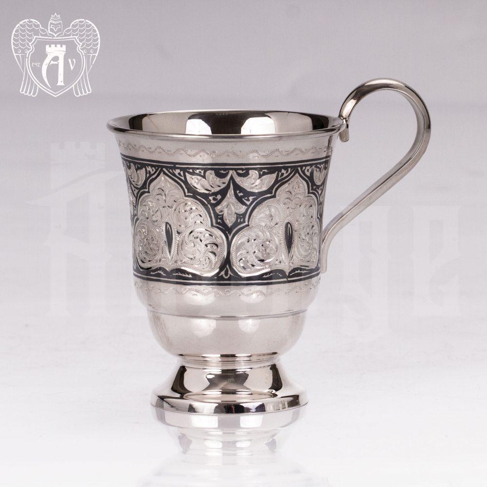 Кружка из серебра для напитков  «Соломон» Апанде, 32009138