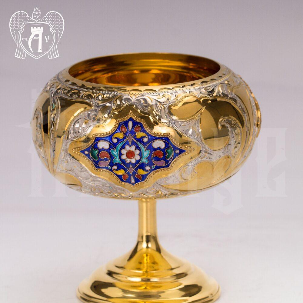 Набор чайный серебряный «Люкс» Апанде, 1110013539