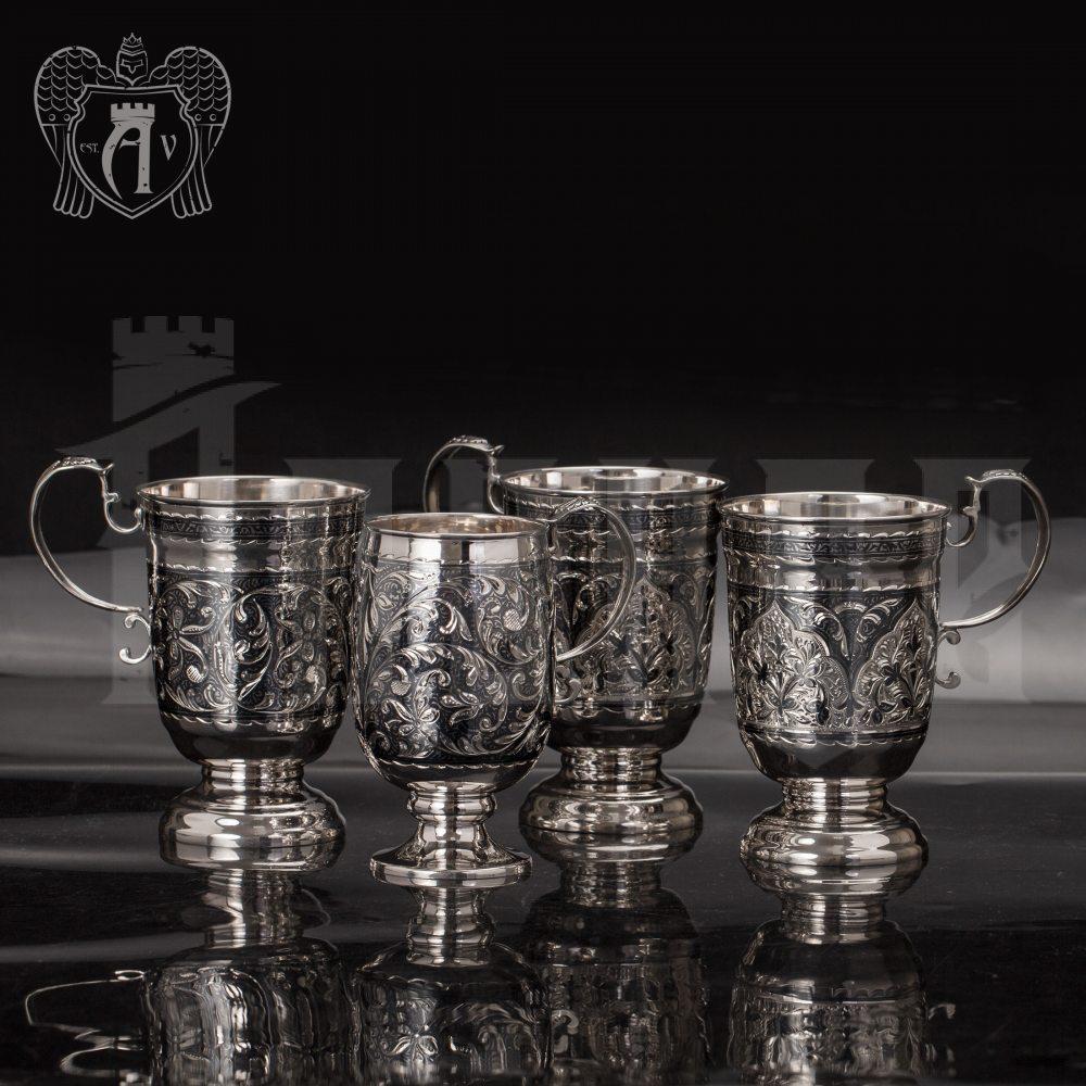 Кружка из серебра для напитков  «Камила» Апанде, 32009142