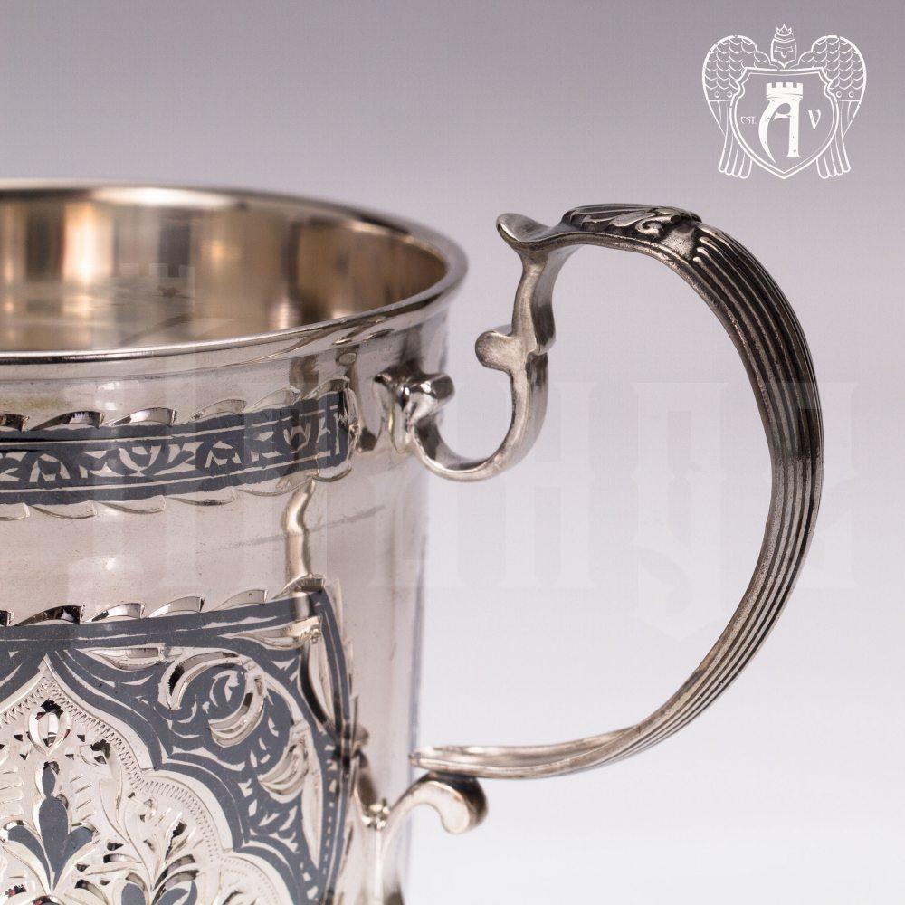Набор кружек  из серебра для напитков  «Торино» Апанде, 32009143