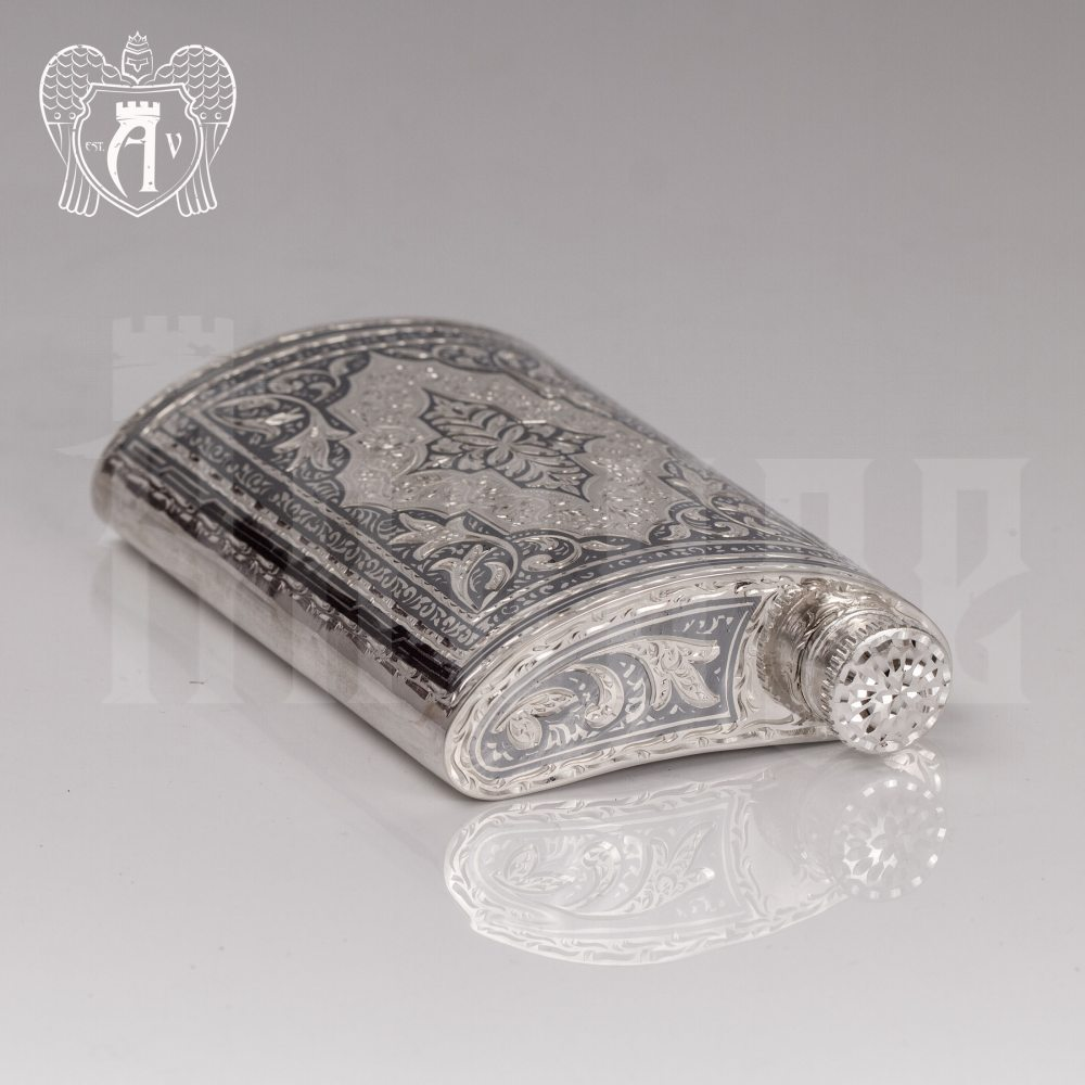 Серебряная фляжка  «Цезарь»  Апанде, 720001101