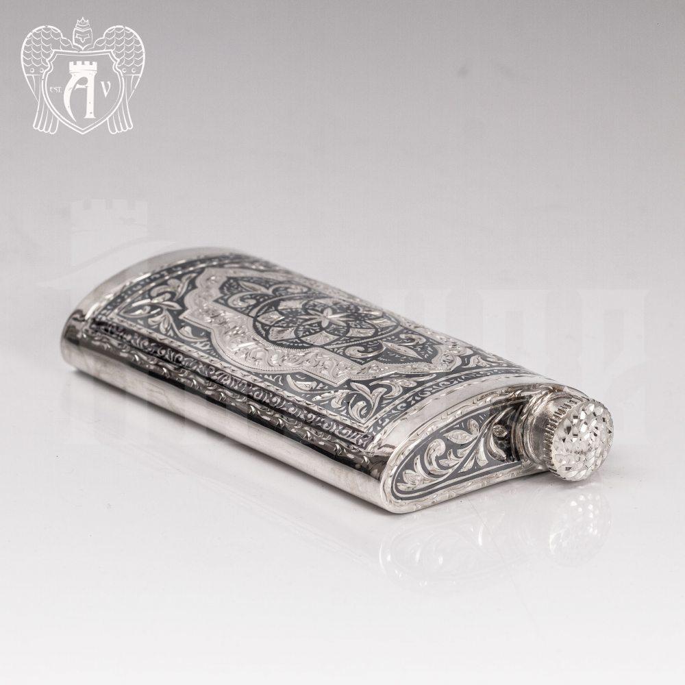 Серебряная фляжка  «Викинг»  Апанде, 720001102