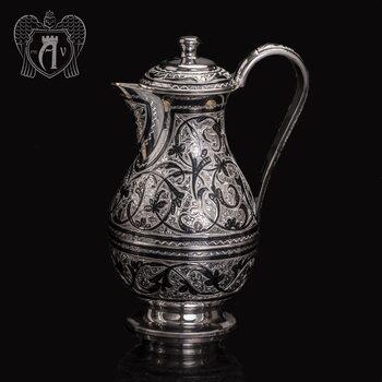 Кувшин из серебра 925 пробы «Кубачи»