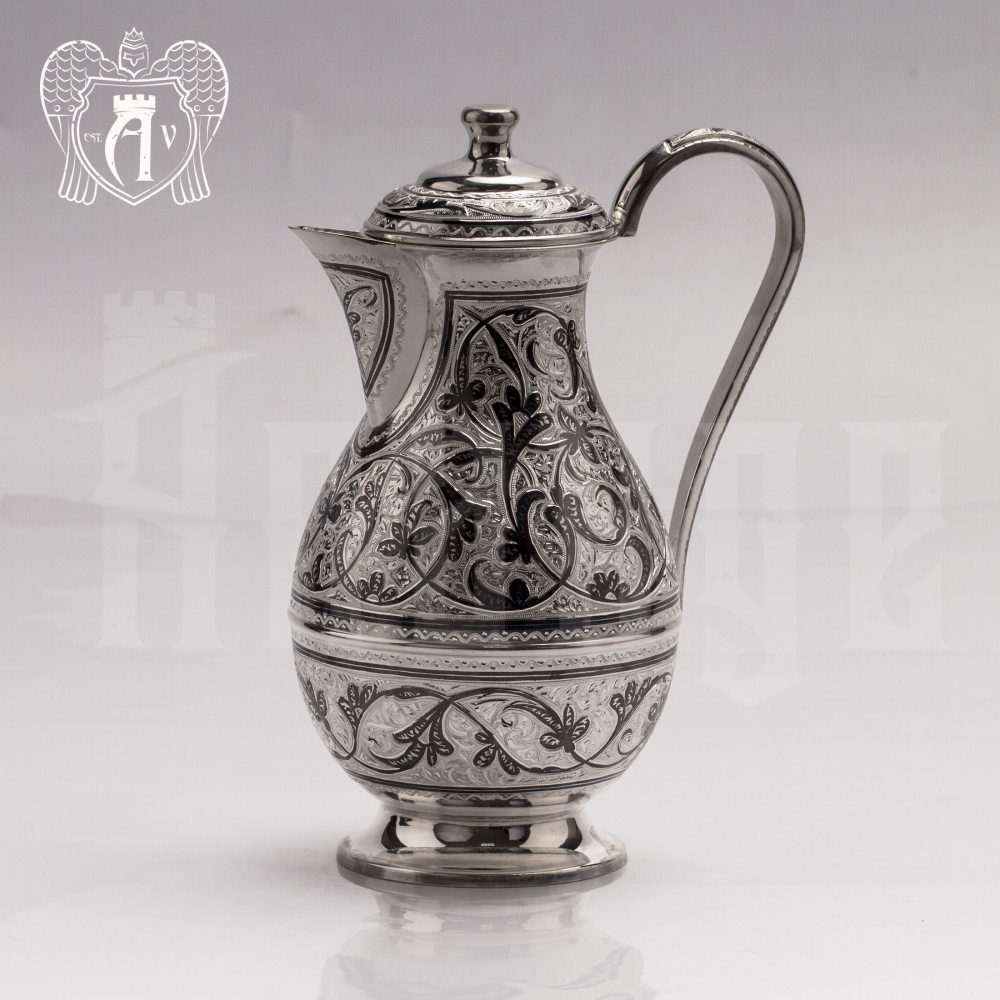 Кувшин из серебра 925 пробы «Кубачи»  Апанде, 5400582