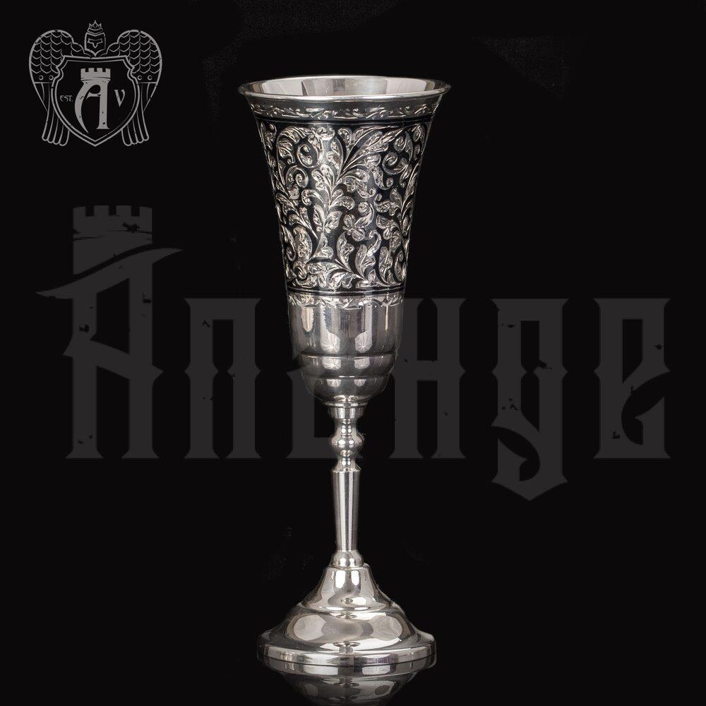 Бокал из серебра «Тиффани»  Апанде, 3800403-24