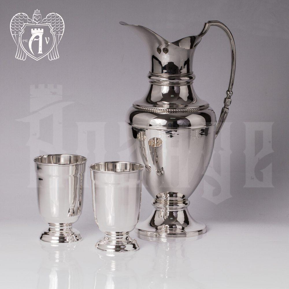 Сервиз для напитков из серебра 925 пробы «Аэлита» Апанде, 1110006160