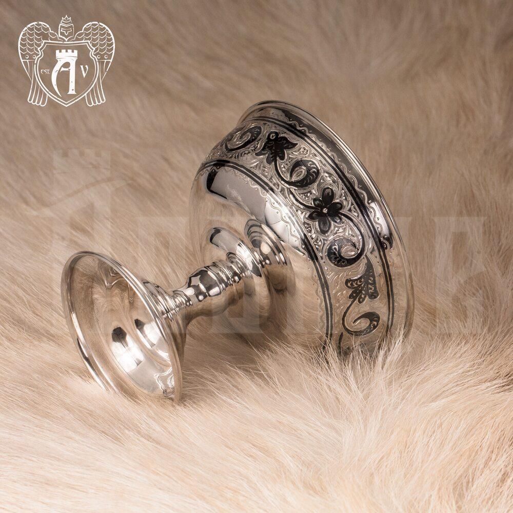 Креманка серебряная  «Нуар» Апанде, 3400015