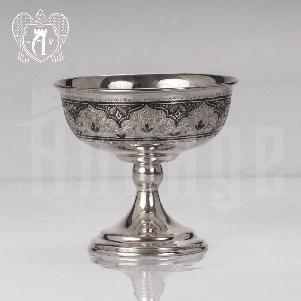 Креманка серебряная  «Эстель» Апанде, 3400017