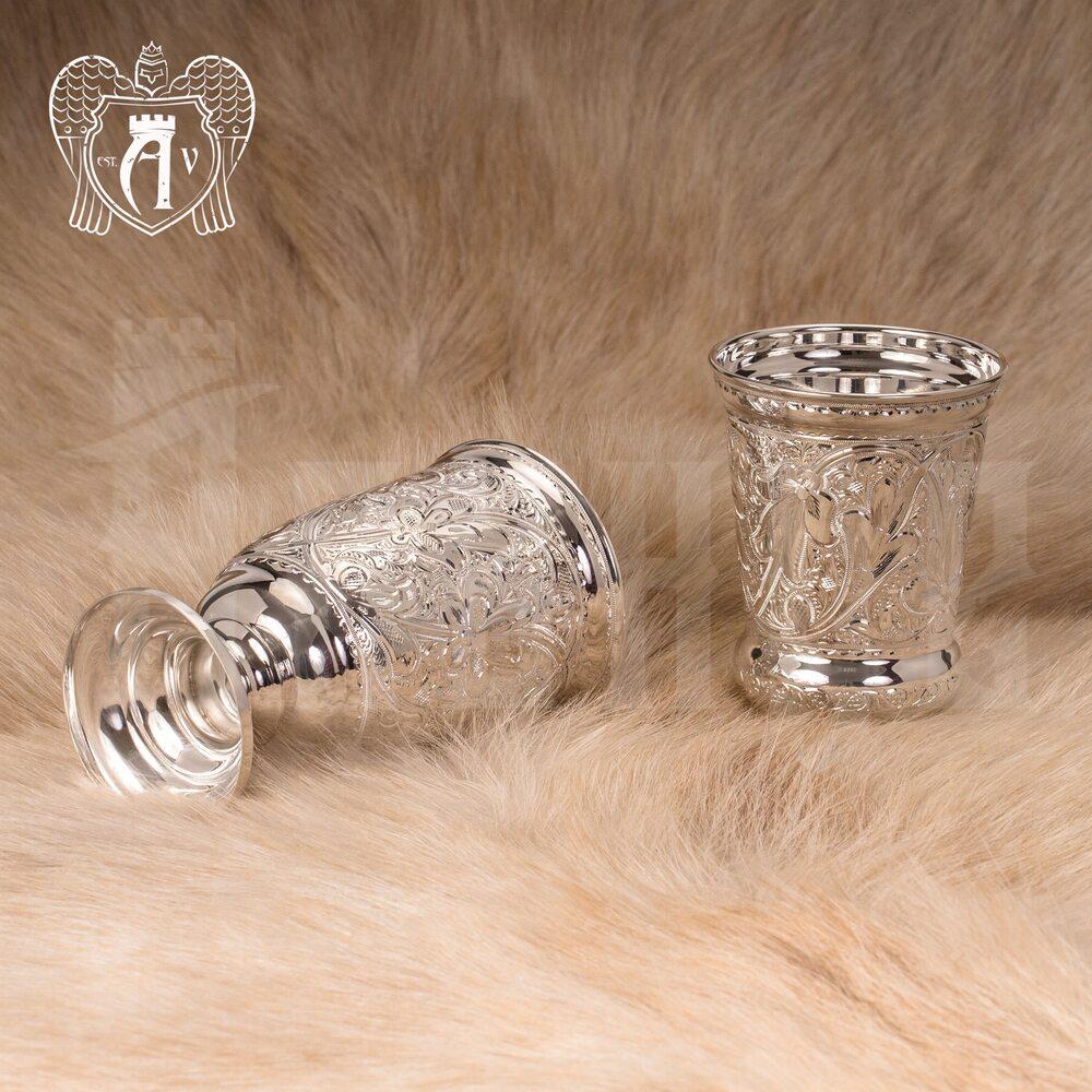 Кубок из чистого серебра 999 пробы «Чистая вода»  Апанде, 71000460