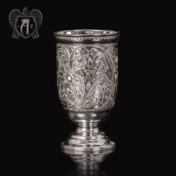 Кубок из чистого серебра 999 пробы «Чистая вода»
