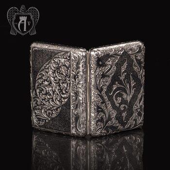 Портсигар из серебра «Клод»