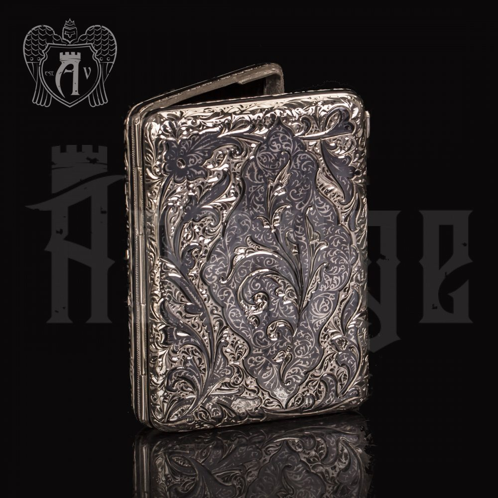 Портсигар из серебра «Клод» Апанде, 53000569