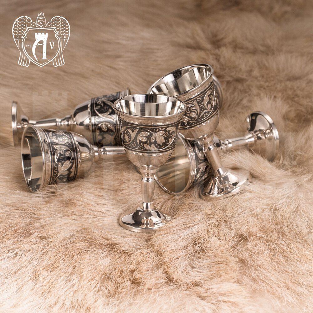 Набор рюмок из серебра  «Мистраль» Апанде, 75000193