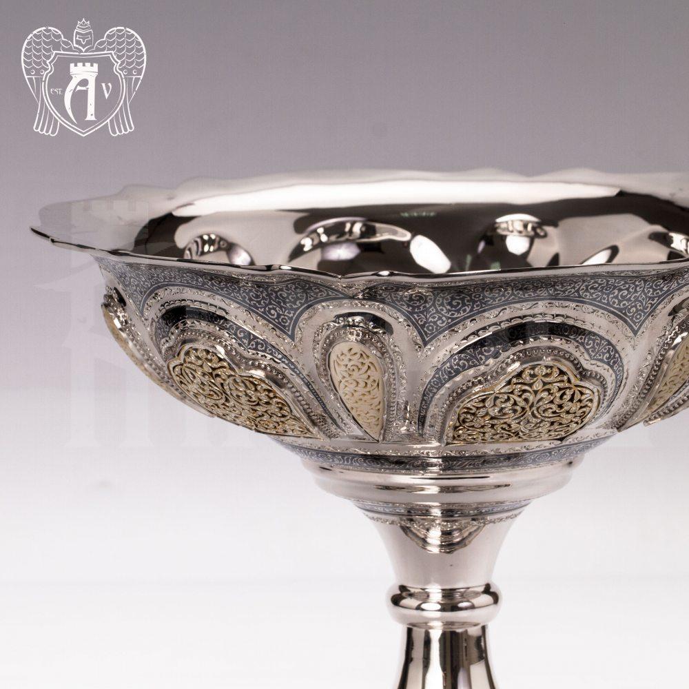 Серебряная фруктовница «Присцилла»  Апанде, 5200010