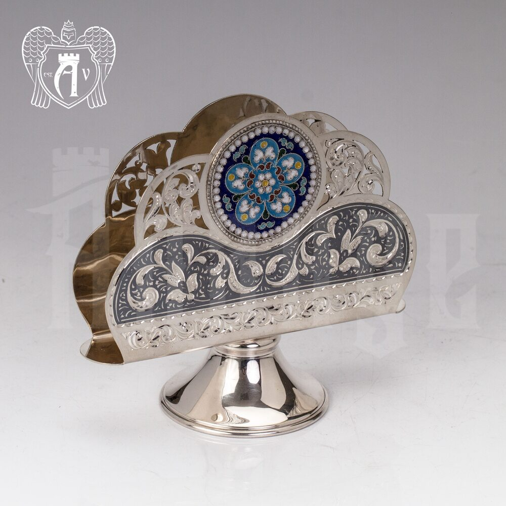 Серебряная салфетница «Ингрид» Апанде, 5100014