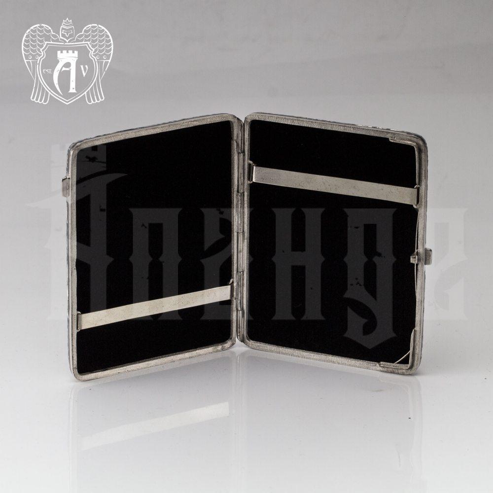 Портсигар из серебра «Арден» Апанде, 53000573