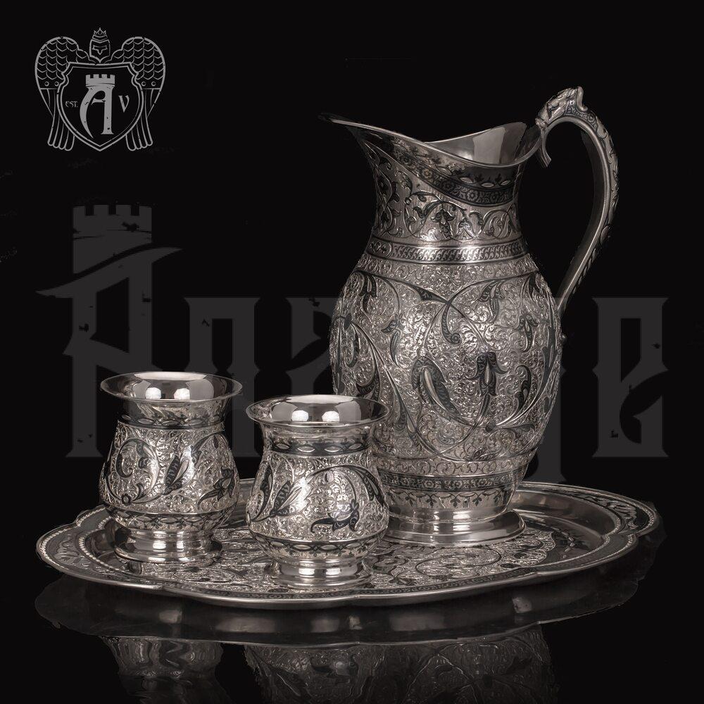 Сервиз для напитков из серебра  «Жизель» Апанде, 1110006175