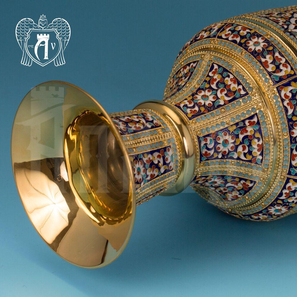 Ваза серебряная «Гелиос» Апанде, 590005