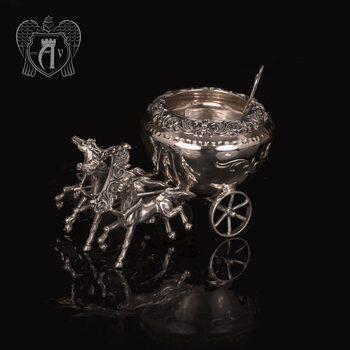 Солонка из серебра «Двойка»