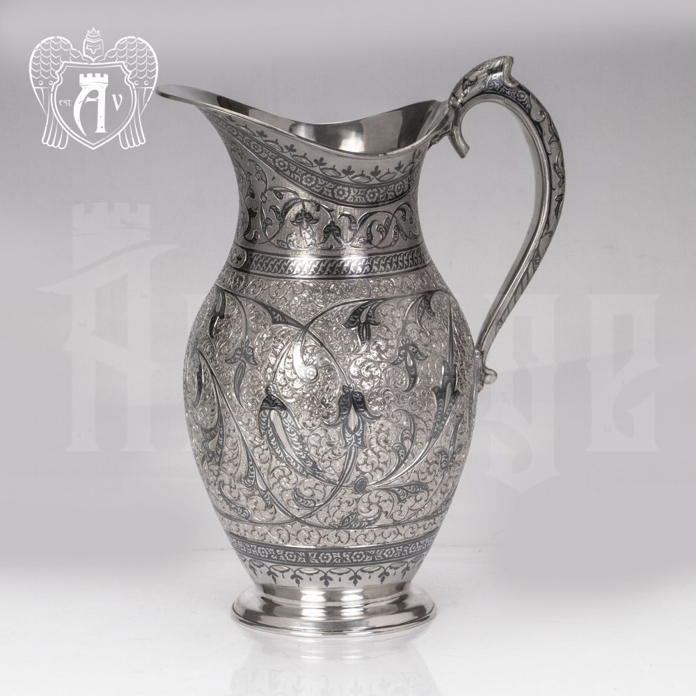 Кувшин из серебра без крышки «Жизель» Апанде, 540040