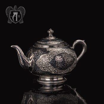 Серебряный чайник «Кармен» 2500015